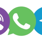 Viber, Whats App и Telegram!
